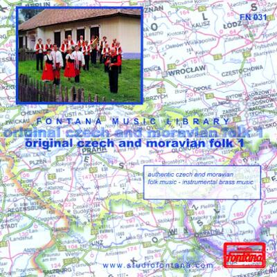 Original czech and moravian folk 1 - authentic czech and moravian folk music - instrumental brass music